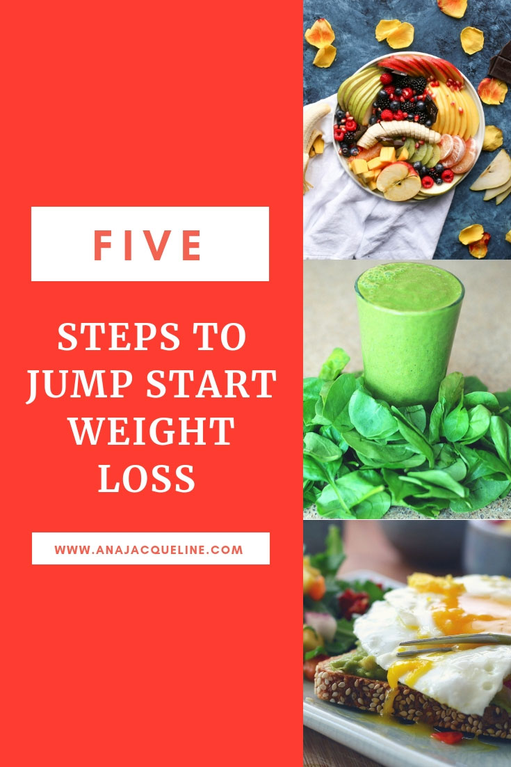 Steps To Jump Start Weight Loss | Weight Loss Tips | Easy Weight Loss Tips | Easy Diet Tips | Healthy Lifestyle Tips | Fit Lifestyle | Matcha Green Tea | Matcha | www.AnaJacqueline.com