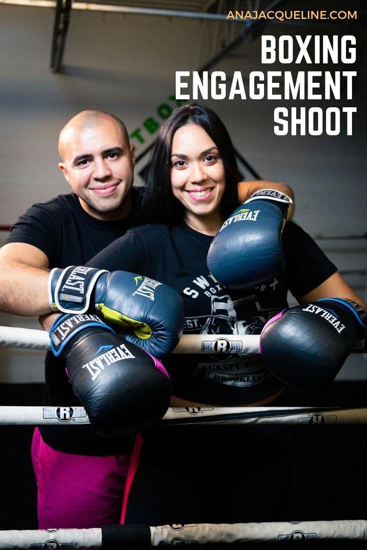 Boxing Engagement Shoot | Fitness Engagement Shoot | Boxing Engagement Session | Fitness Engagement Session | Fun Engagement Shoot | Creative Engagement Shoot | Engagement Shoot Ideas | www.AnaJacqueline.com