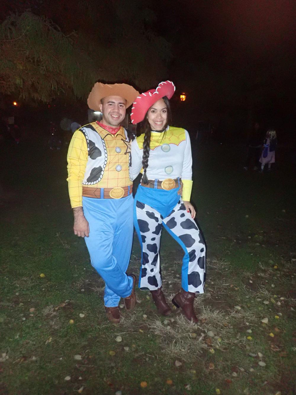 Woody and Jessie couple Halloween costumes