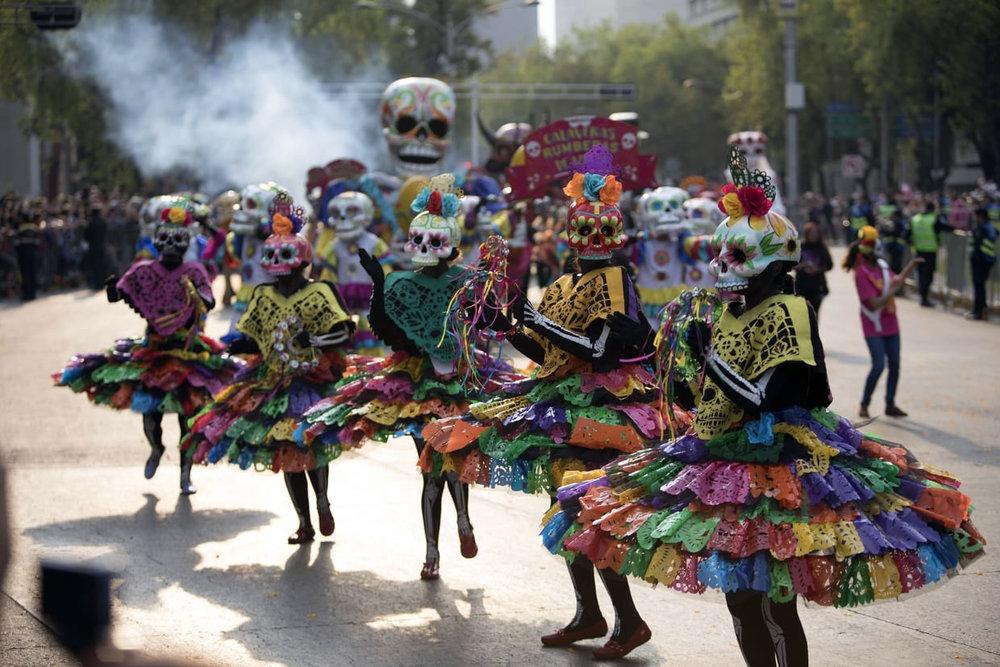 Dia de los Muertos Mexico celebration
