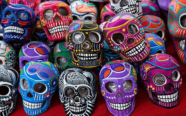 Calaveras Mexico Dia Muertos