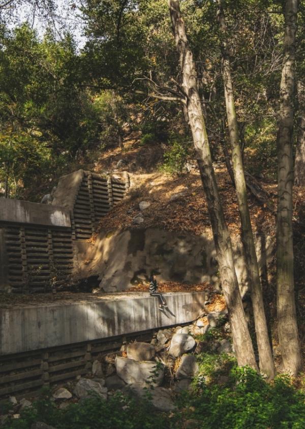 Sturtevant Falls Trail water dam