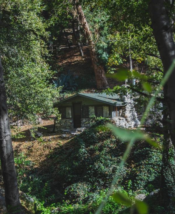 Sturtevant Falls Trail cabin 3