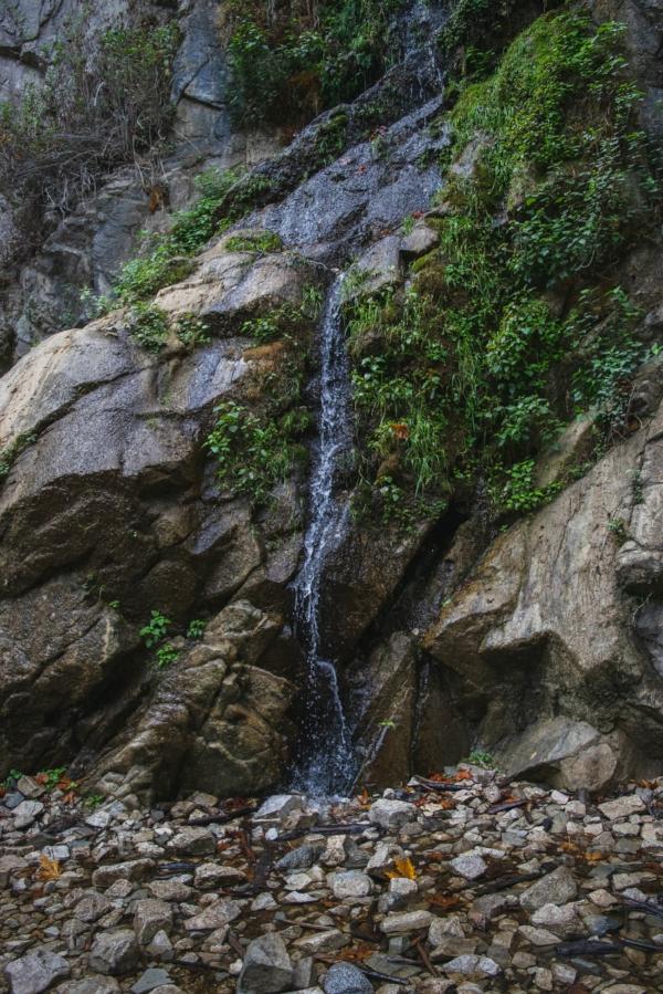 Sturtevant Falls Trail waterfall
