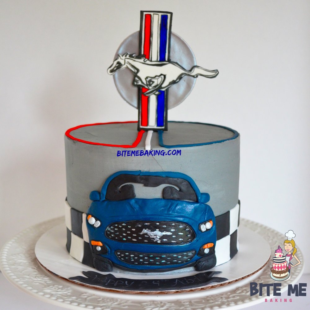 Mustang Cake