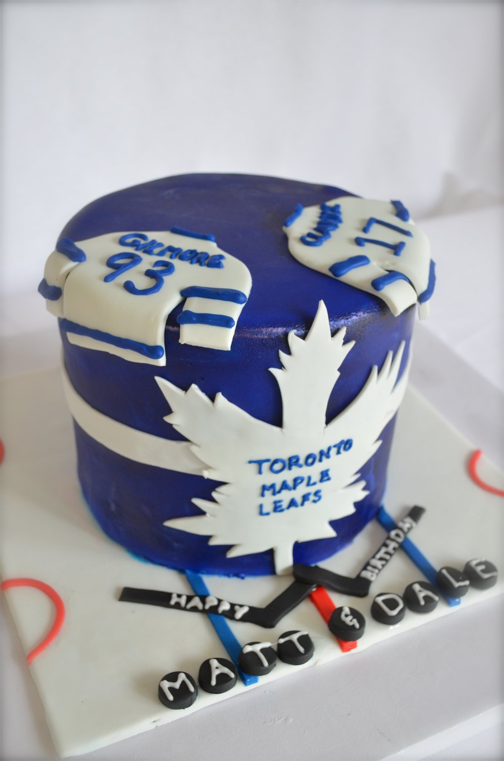 Favourite Hockey team cake