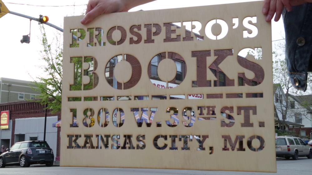 PROSPERO'S BOOKS TV SPOT