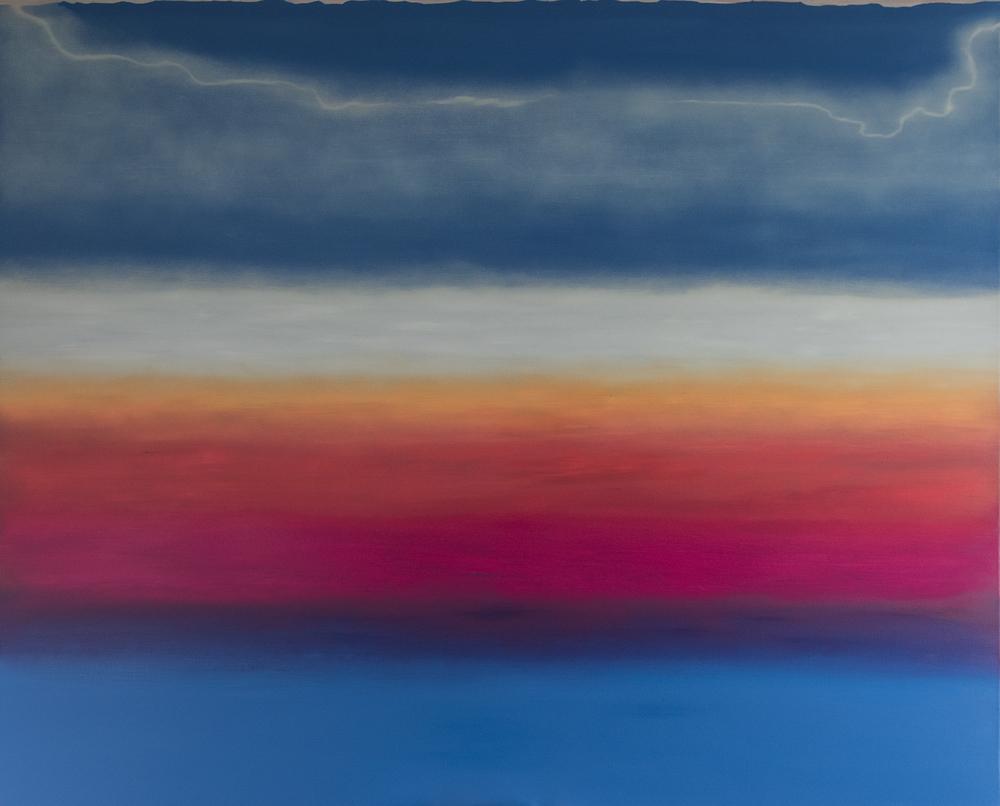 Oil on canvas / 2015 / Oda a la Alegría / 200 x 160 cm