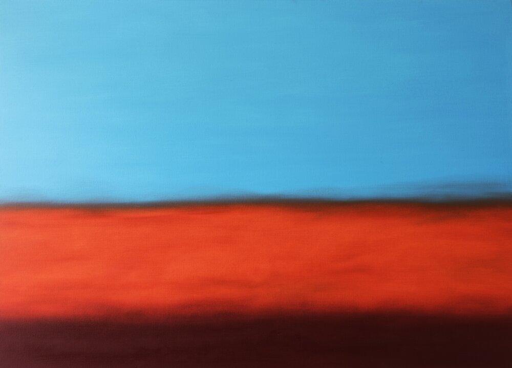 Oil on canvas / 2015 / Title: Edward Ruscha / 150 x 105 cm