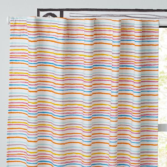 The Land of Nod - Striped Curtain