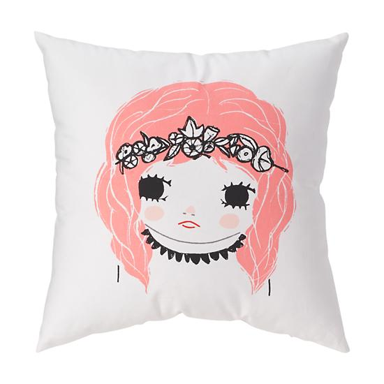 The Land of Nod - Girl Pillow