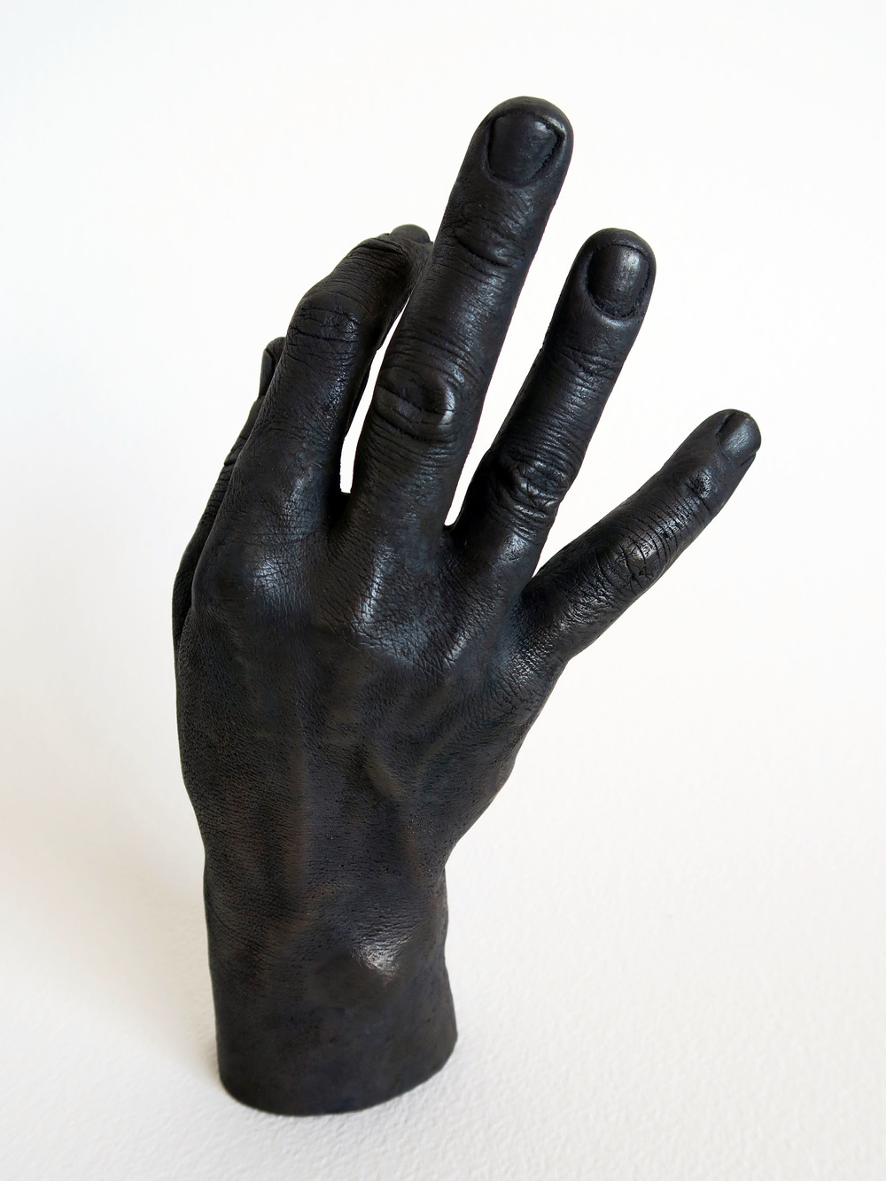 [IMAGE - Hand cast in bronze. Anna Mayer, We Are Not Only Anything]