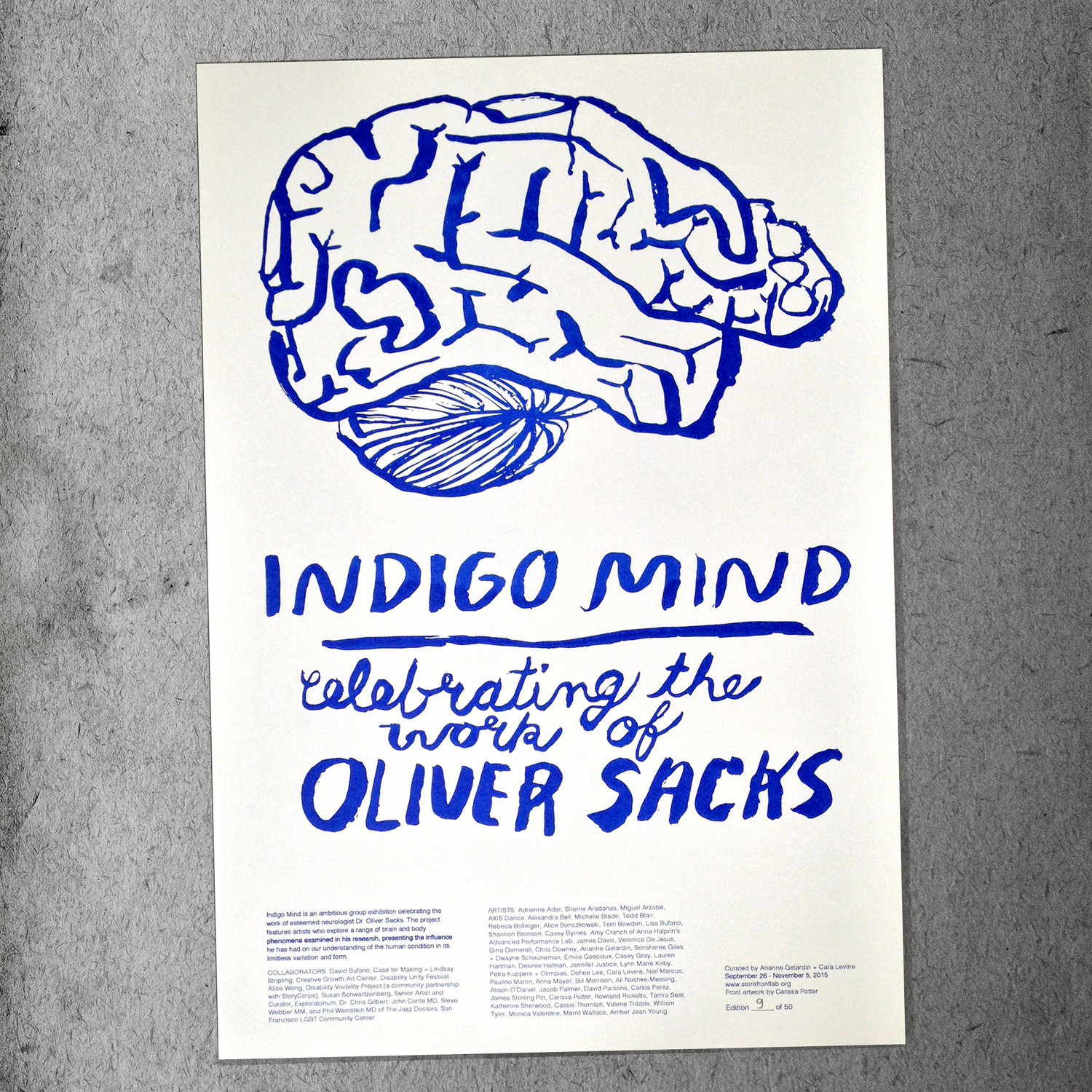 FOR SALE // Limited Edition INDIGO MIND Prints — StoreFrontLab