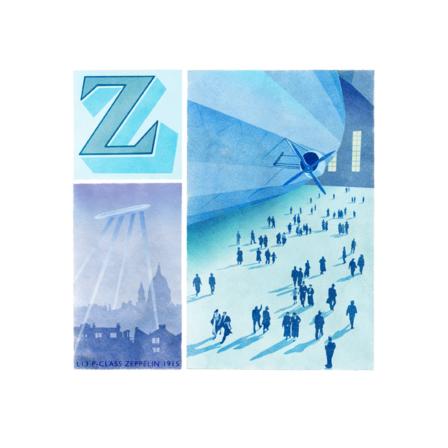 Z is for Zeppelin I (a*)
