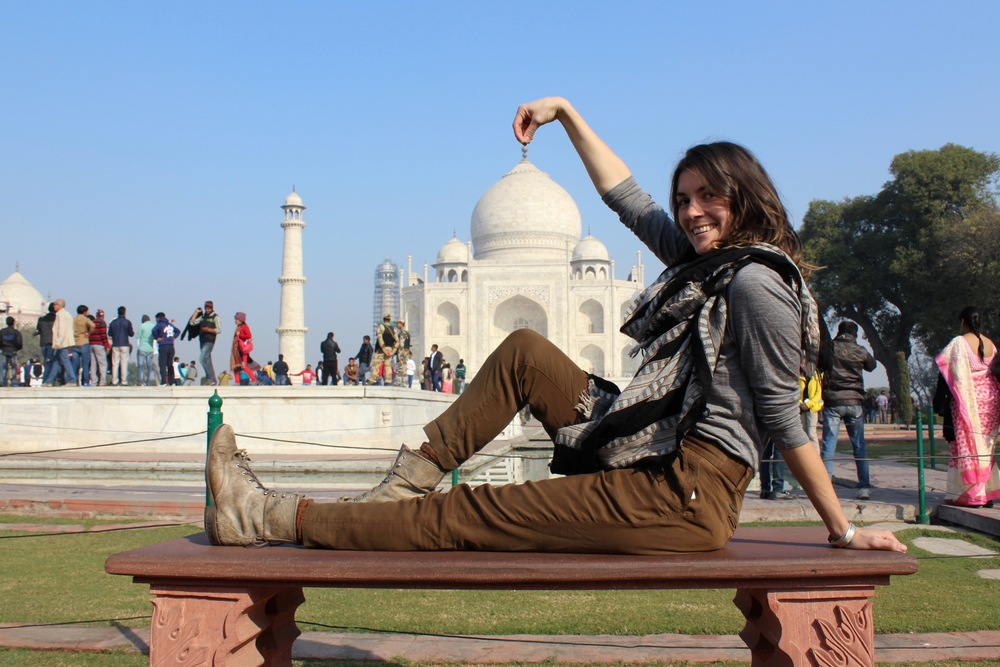 TAJ MAHAL TOURIST SHIT