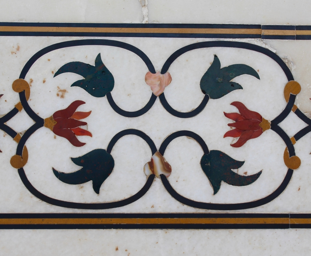 Taj Mahal inlay work