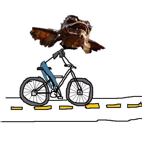 angry bike gremlin