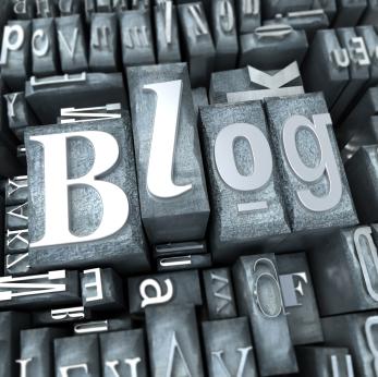 Blog in typescript letters