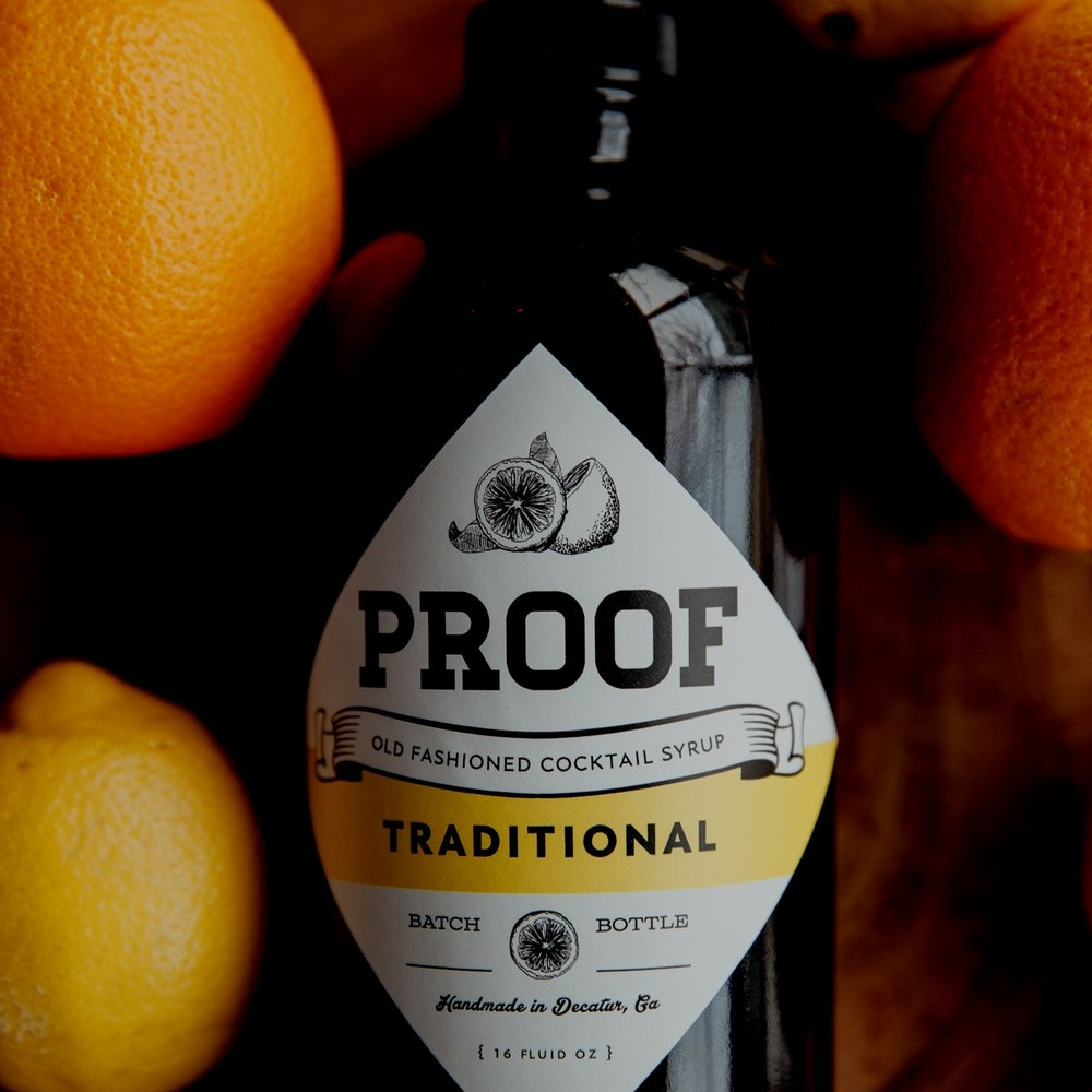 Respect Your Bourbon, Get PROOF Syrup Today -