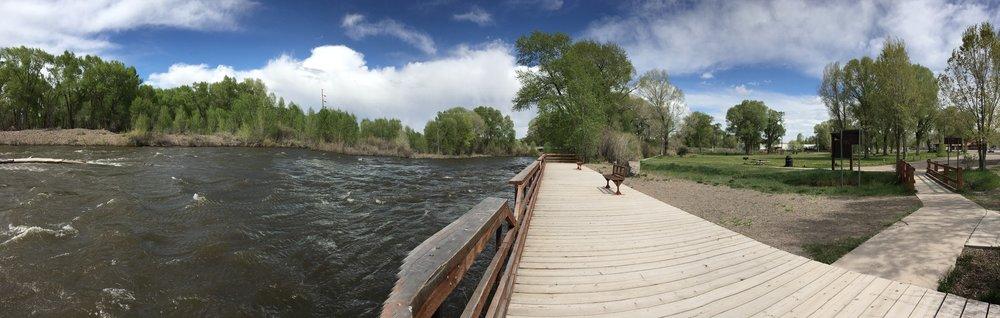 Rio Grande, Town Park, Del Norte, CO