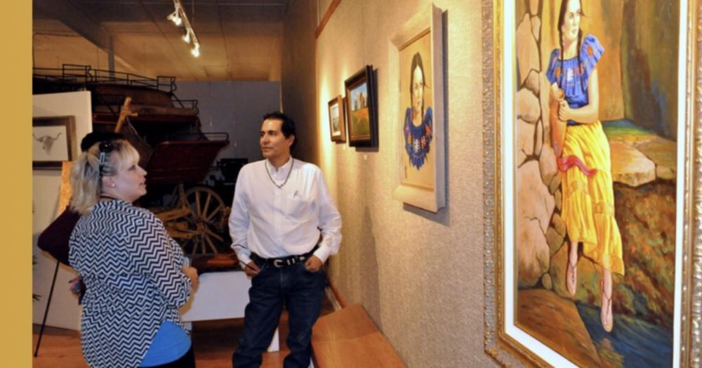 Exhibition at Lea County Museum, Lovington, New Mexico, September 5, 2014