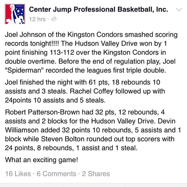 #historyinthemaking #ballislife #cjpb #firstever #centerjumpproball #tripledouble 🔥🔥🔥🔥🔥🔥🔥