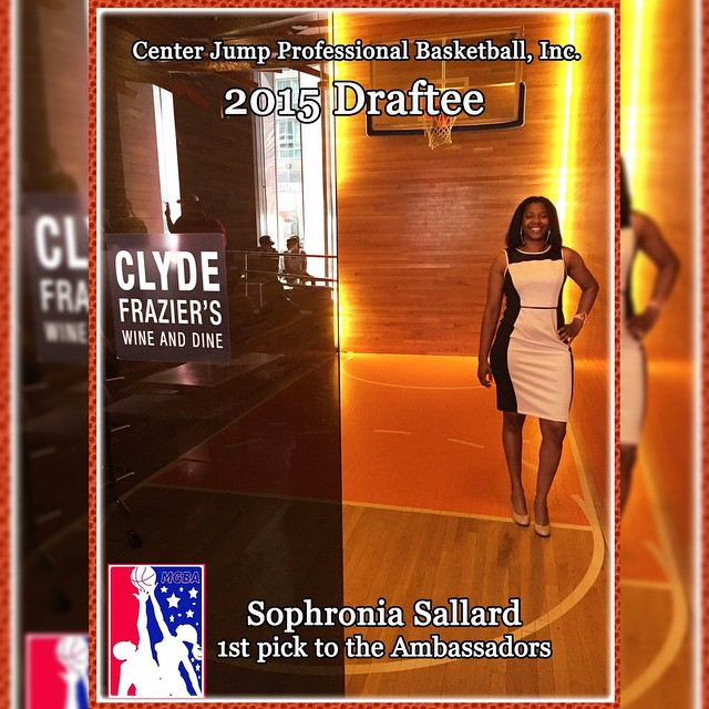 #1 draft selection.  Congrats! #centerjumpproball #2015draft #cjpbinc #cjpb #ballislife