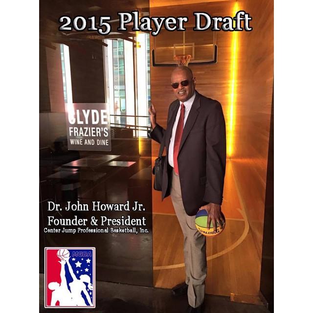 #Founder&President #ballislife #drhoward #cjpb #cjpbinc #centerjumpproball #2015draft