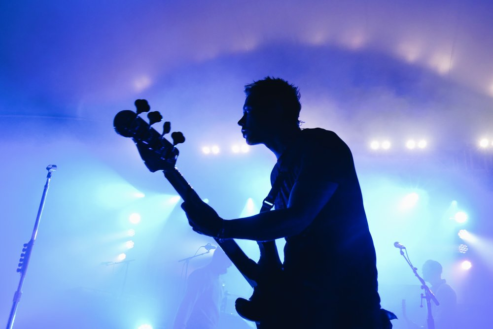 Matt Noveskey of Blue October (by Kassandra Tovar)