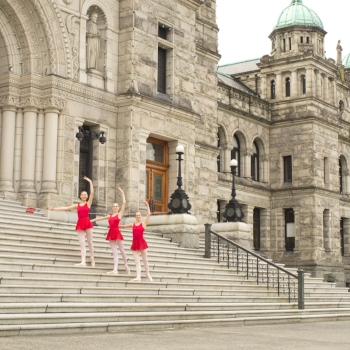Victoria Legislative Maple Leaf School of Russian Ballet