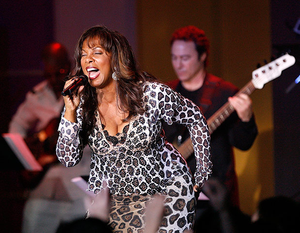 Donna Summer rocks out! Copyright  ©   Mario Anzuoni/Reuters.