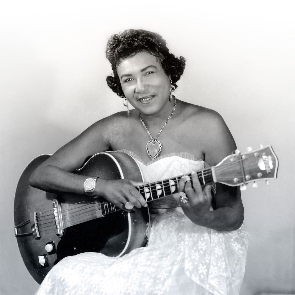 Country blues pioneer Memphis Minnie. Copyright   ©  1993 Delta Haze Corporation.