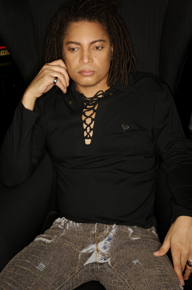 Terence Trent D'Arby photo. Copyright   ©   sanandamaitreya.com.