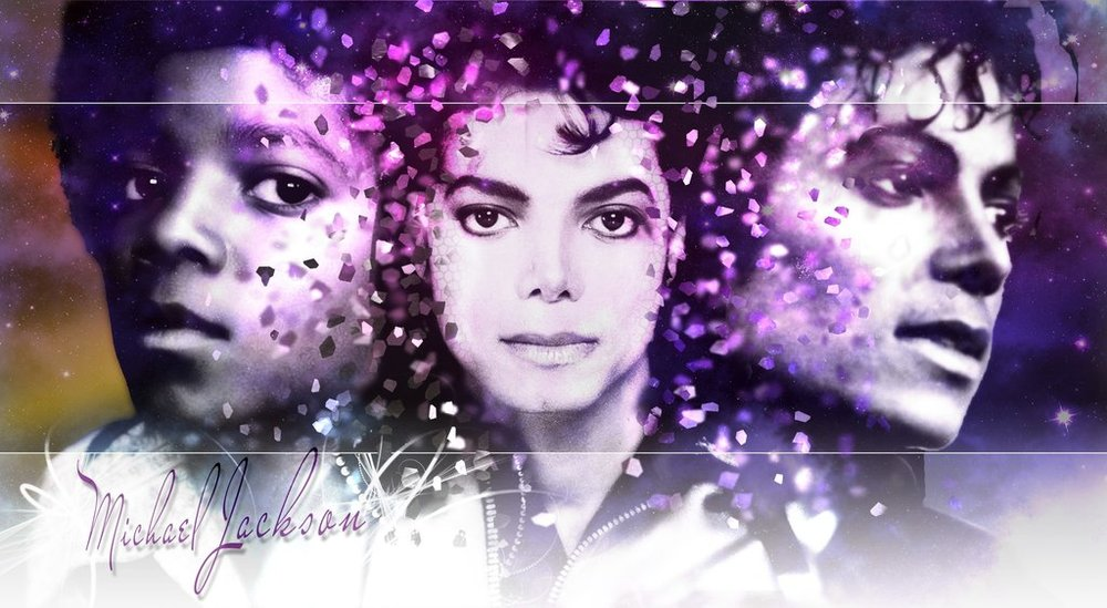 Michael Jackson collage by zerriedeviantart.com.