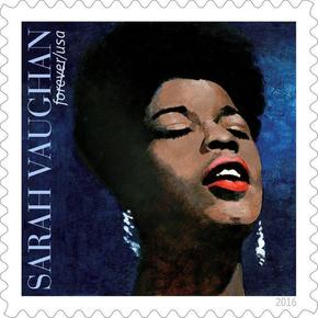 """The Divine One"" Sarah Vaughan (1924-1990) finally gets a Forever Commemorative Stamp!"