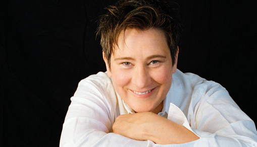 Vocalist, writer, and interpreter extraordinaire k.d. lang.