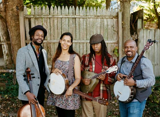 The Carolina Chocolate Drops  are a contemporary band keeping the string band tradition alive through playing classic and contemproary songs.