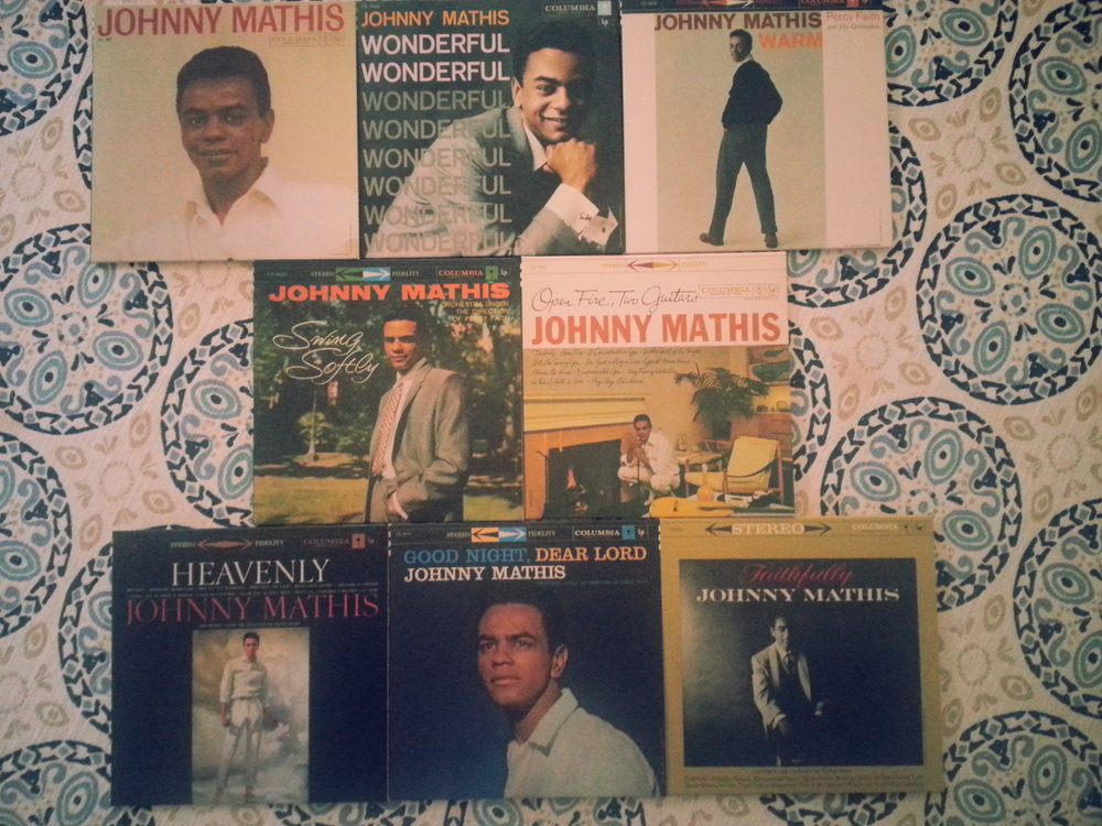 Johnny Mathis established his distinctive sound from 1956-59 during his first few years recording for Columbia Records.