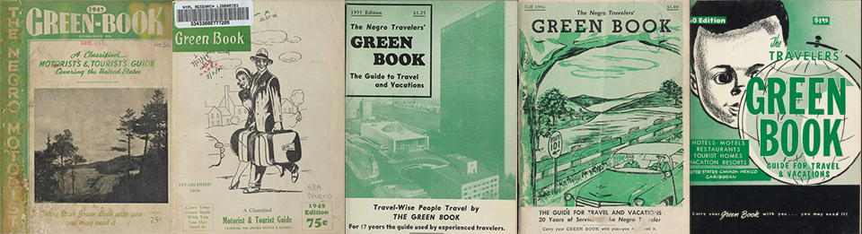 "The New York Public Library has an interactive digital collection called ""Navigating The Green Book"" that provides further education about the way black motorists used them to navigate travel in the U.S. The site can be accessed at:  https://publicdomain.nypl.org/greenbook-map/"