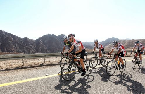 Climbing through the Eilat Mountains