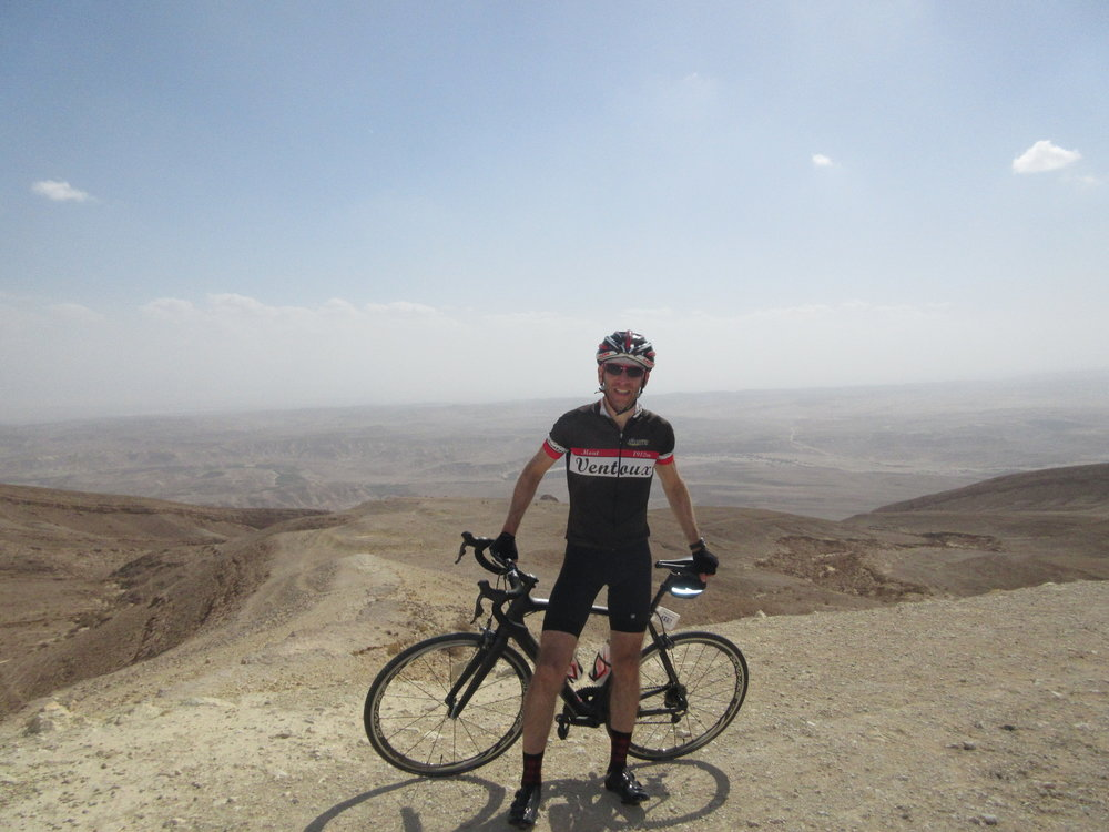 "Just finished climbing the infamous ""Scorpion"" - the original Jerusalem to Eilat Road"