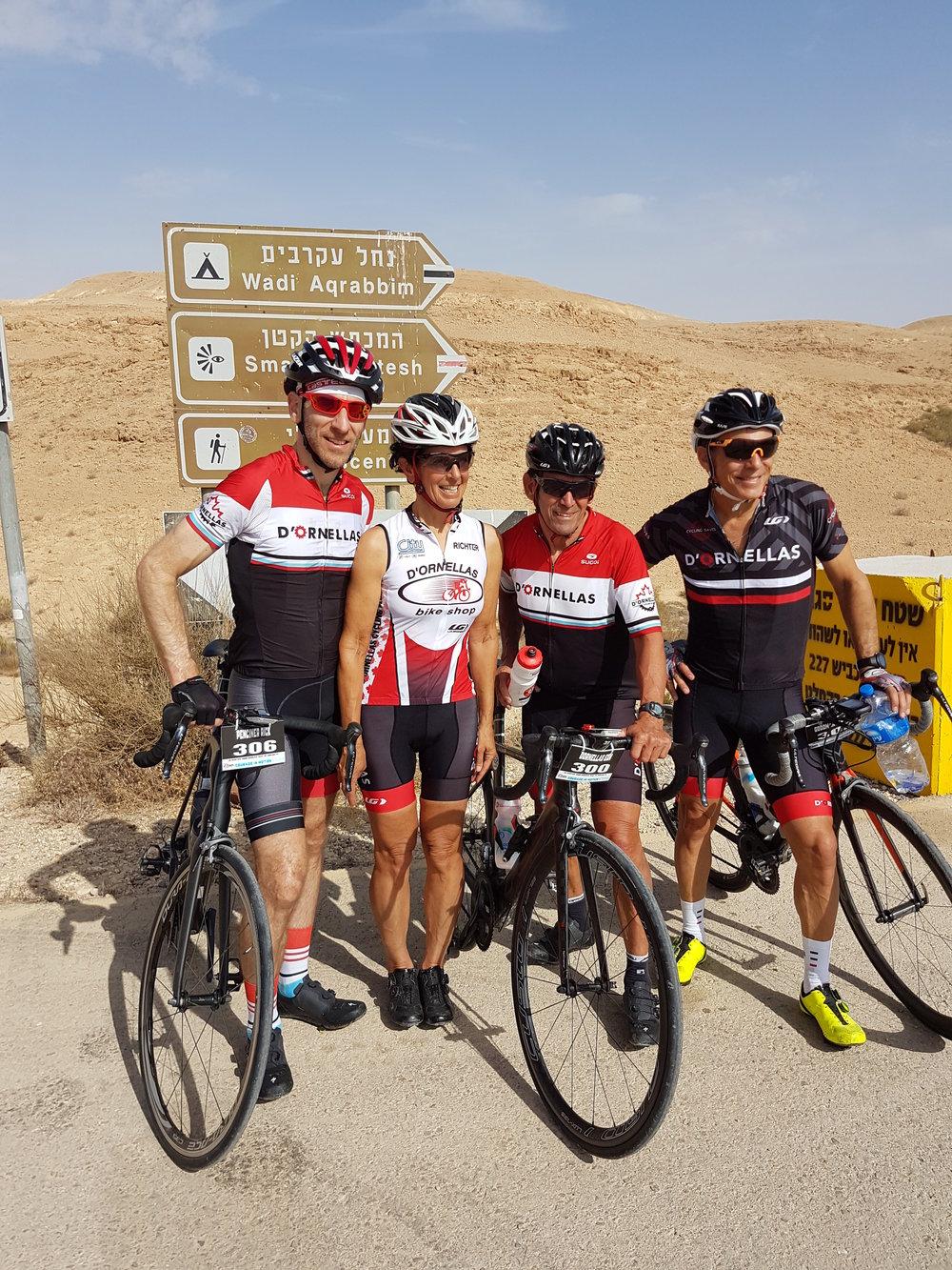 Rick's cycling club buddies