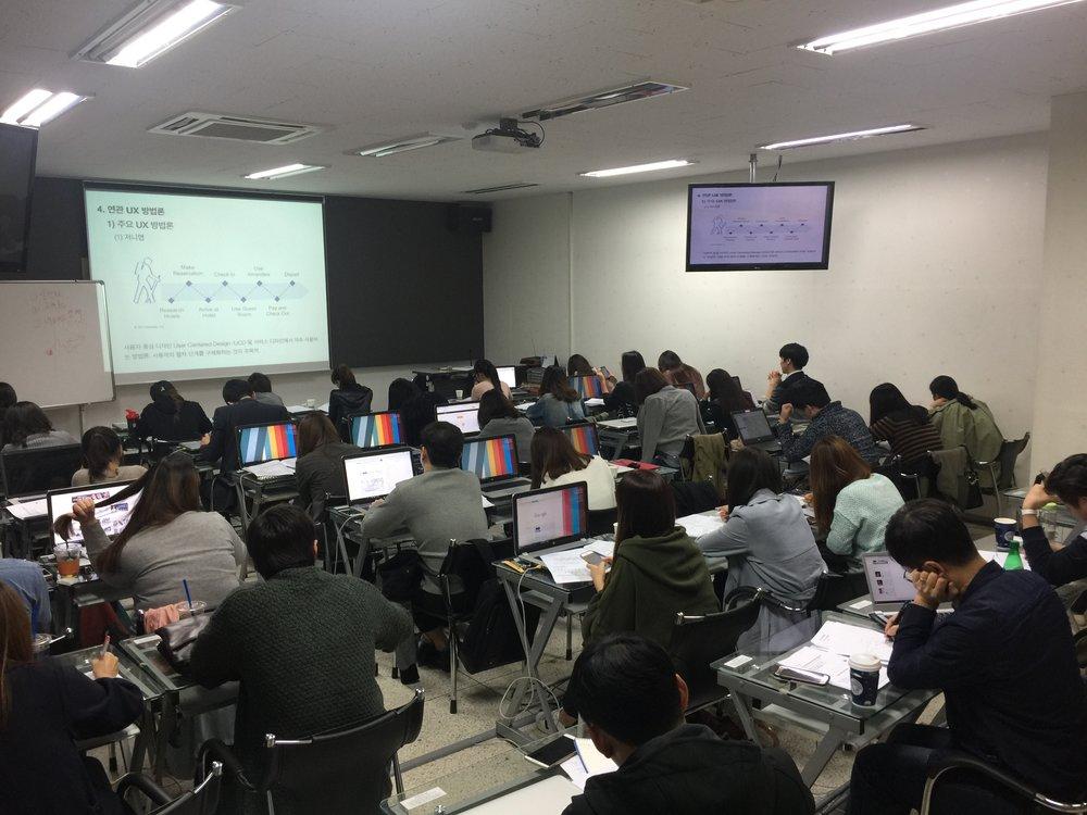한국인터넷전문가협회 KIPFA에서 멀티 디바이스 UX/UI 디자인 과정을 강의하였습니다.