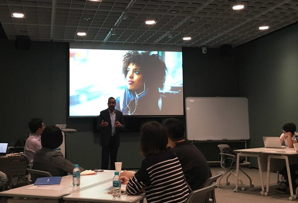 아마존의 혁신적인 프로젝트와 제품, 서비스의 개발 프로세스와 실제 사례에 대한 강의가 진행되었습니다.