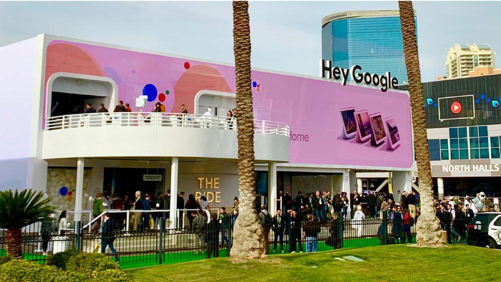 Google의 구글 어시스턴트 전시관 'HEY GOOGLE'