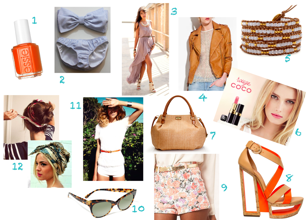 12 Summer Must Haves in 2012