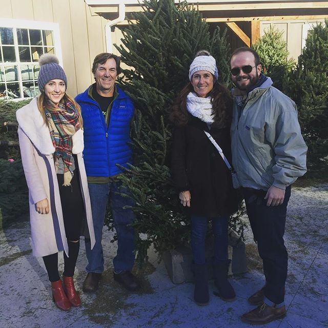 So happy to have time at home picking out the tree with @rmwman @tltwads @30youngbull #tistheseason #family