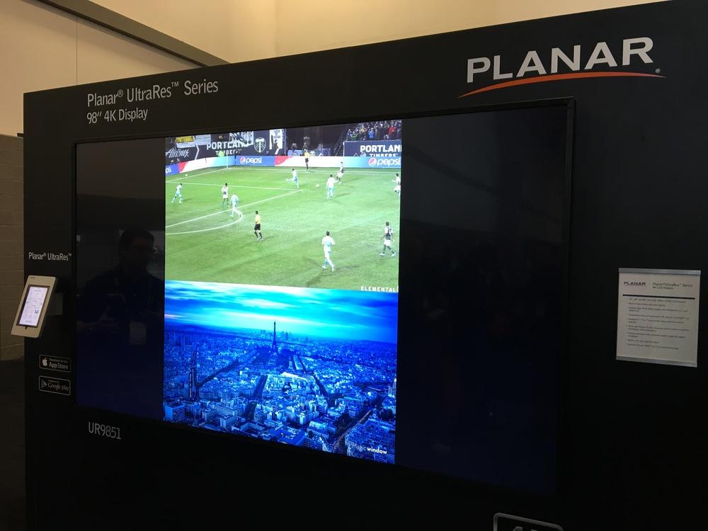 """98"""" 4k TV"""