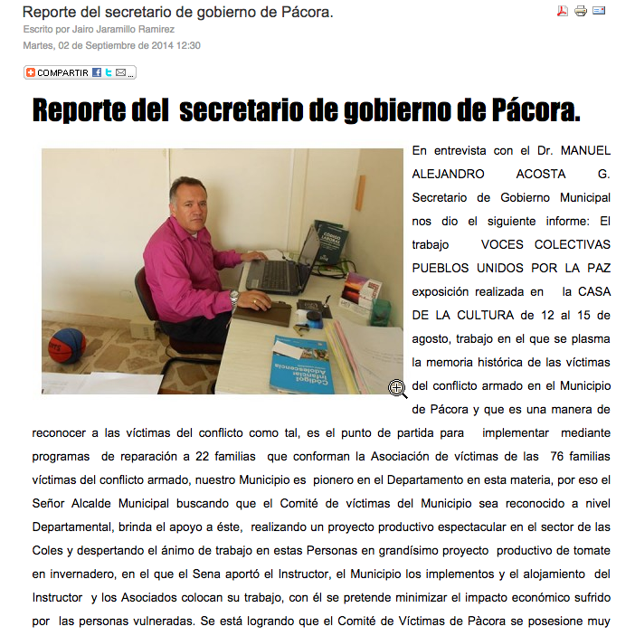 NotiPacora Report