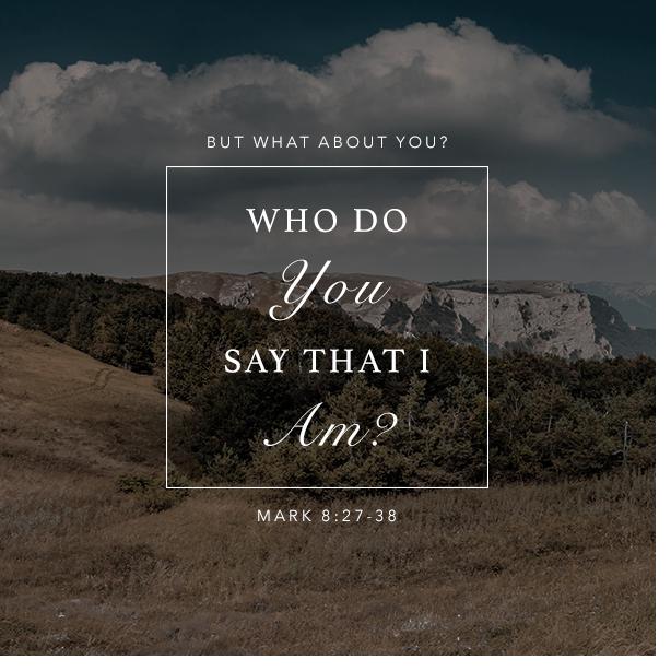 Mark 7:27-38